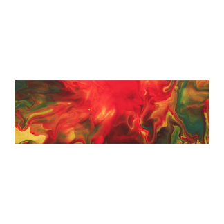 Red Giant Canvas Print