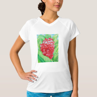 Red Ginger Watercolor T-Shirt