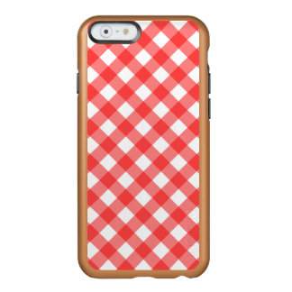 Red Gingham iPhone 6 Case Incipio Feather® Shine iPhone 6 Case