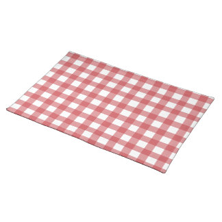 Red Gingham Placemat