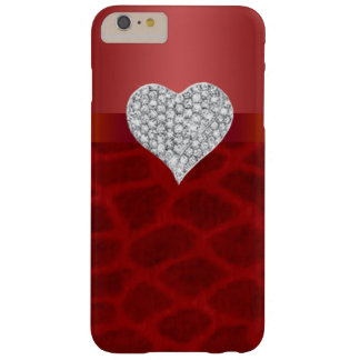Red Giraffe Diamond Heart iPhone 6 Case