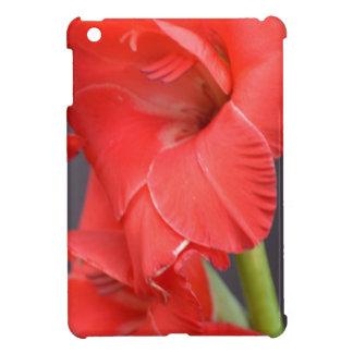 Red Gladiola Flowers iPad Mini Cases