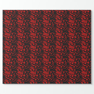 Red Glam Wrapping Paper