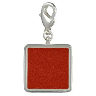 Red Glitter Charm