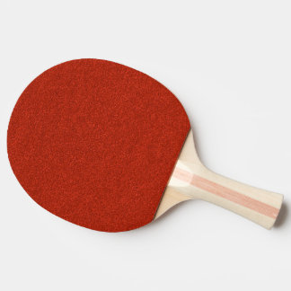 Red Glitter Ping Pong Paddle
