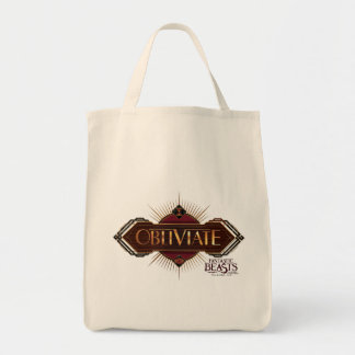 Red & Gold Art Deco Obliviate Spell Graphic