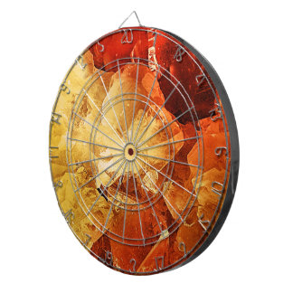 Red & Gold Dartboards