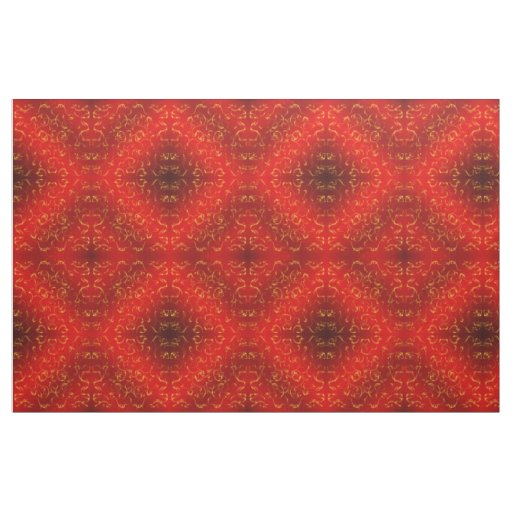 red gold Fabric, colourful house textile beautiful Fabric