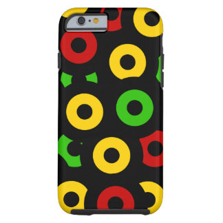 Red Gold Green Sleeves Tough iPhone 6 Case