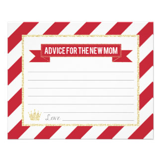 Red Gold Prince Advice for the New Mom Flyer