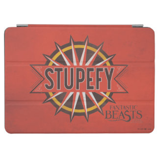 Red & Gold Stupefy Spell Graphic iPad Air Cover