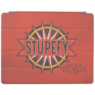 Red & Gold Stupefy Spell Graphic iPad Cover