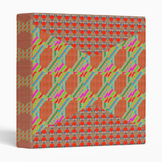RED Golden DOTS Jewel PATTERN Graphics HOME Office Binders