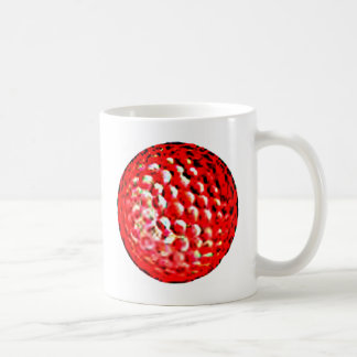 Red Golf Ball1 jGibney The MUSEUM Zazzle Gifts Classic White Coffee Mug