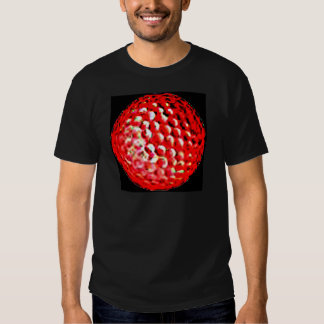 Red Golf Ball1 jGibney The MUSEUM Zazzle Gifts Shirts