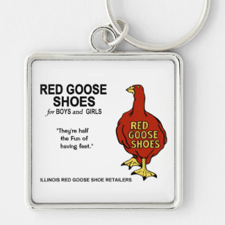Red Goose Shoes of Illinois Keychain