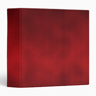 Red Gothic Ombre Background Art 3 Ring Binders