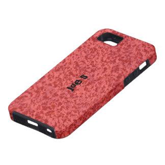 Red Granite iPhone 5 Case