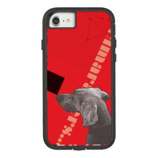 RED GRAPHIC WEIM IPHONE CASE BY BLU WEIM
