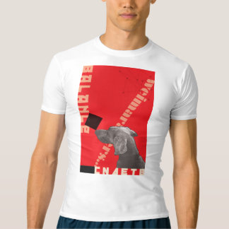 RED GRAPHIC WEIM MEN'S PERFORMANCE T-SHIRT