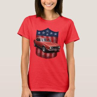 Red great American Shield Camaro Ladies T T-Shirt