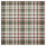 red green and white holiday Christmas plaid Fabric