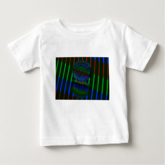 Red,Green, blue in the crystal ball Baby T-Shirt