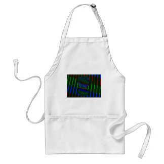 Red,Green, blue in the crystal ball Standard Apron