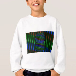 Red,Green, blue in the crystal ball Sweatshirt