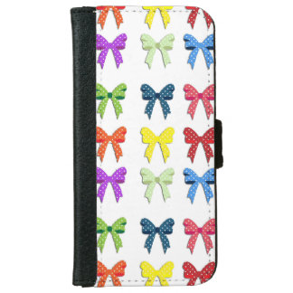 Red, Green, Blue Yellow and Purple Bows Phone Case