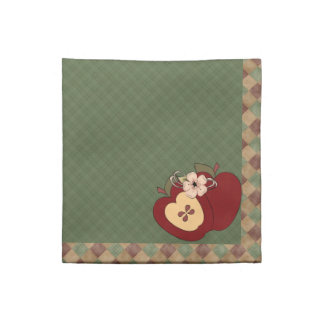 Red & Green Country Apples Napkin