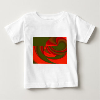 Red & Green Cubist Abstract Tshirts