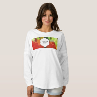 Red green painting spirit jersey