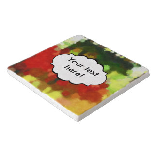 Red green painting trivet