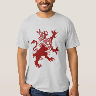 Red Griffin - Medieval Gryphon Shirt