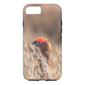 Red grouse iPhone 8/7 case