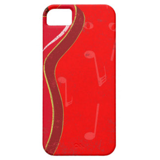 Red Guitar Background iPhone 5 Case