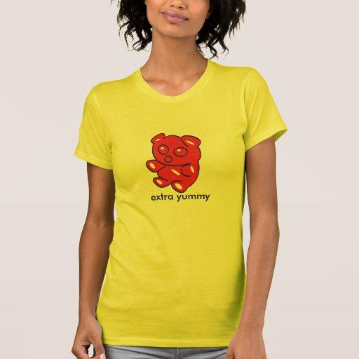 red gummy bear t tee shirt