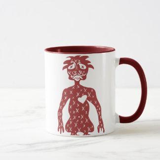 Red Guy Mug
