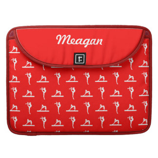 Red Gymnastics MacBook Pro Sleeve