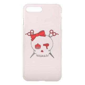 Red Hair Accessory Skull -Scissor Crossbones #2 iPhone 7 Plus Case