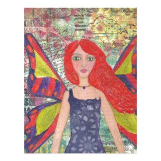 Red Haired Dreamer.jpg Letterhead Design