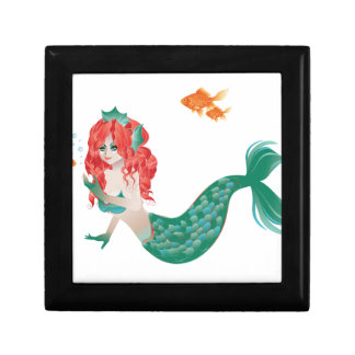 Red Haired Mermaid 2 Gift Box