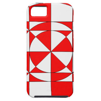 red halo art case for the iPhone 5