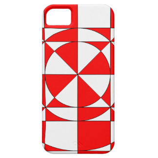 red halo art iPhone 5 covers