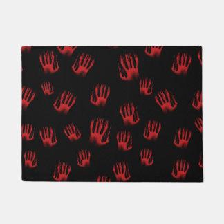 Red Hands Doormat