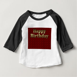 Red Happy-birthday #2 Baby T-Shirt