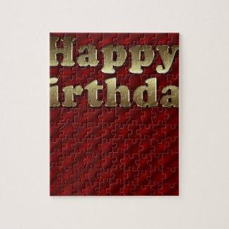 Red Happy-birthday #2 Puzzle