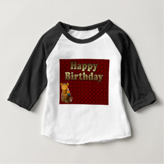 Red Happy-birthday Baby T-Shirt