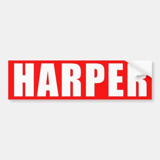 Red Harper Sticker